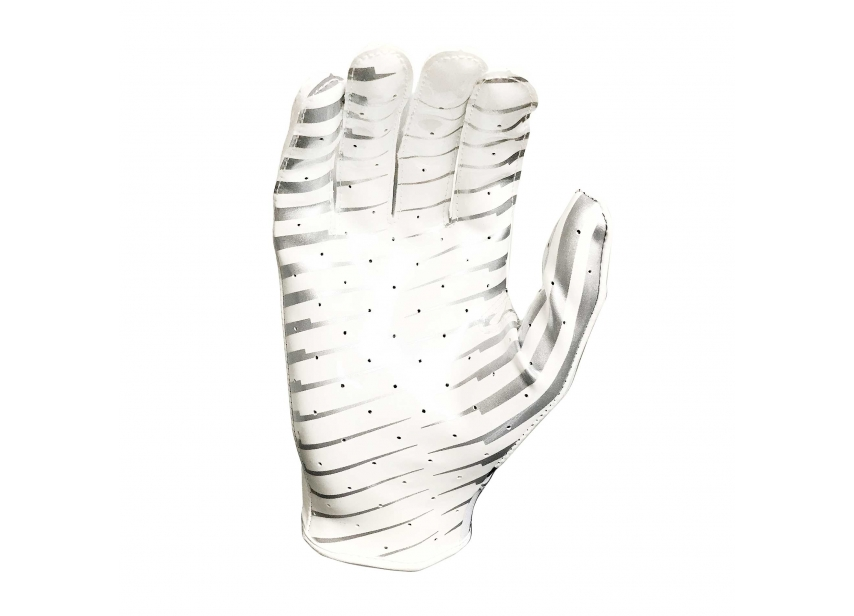 6380a72c58f Wilson AD Clutch Skill American Football Receiver Gloves - White Black -  Large