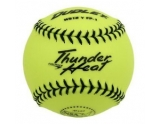dudley-4e-203y-softball-practice-ball-thunder-heat-yellow-12-inch