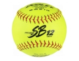 dudley-sb12lrf-leather-game-softball-yellow-12-inch