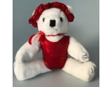 dreamlight-gym-bear-with-leotard-and-hairscrunchie-12-inch-red