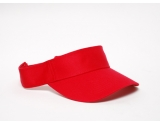 pacific-headwear-505v-cotton-visor-red-adult