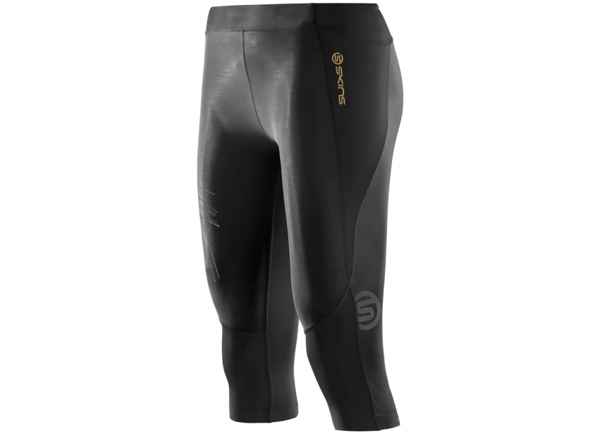 0cde3f1799 Skins A400 Womens Starlight 3/4 Tights - Black - Small | All American Sports